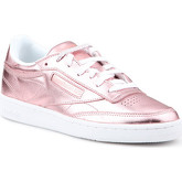 Reebok Sport  Club C 85 S Shine CN0512  women's Shoes (Trainers) in Pink