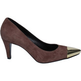Fabi  courts suede AK810  women's Court Shoes in Brown