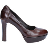 Fabi  courts shiny leather AK783  women's Court Shoes in Brown