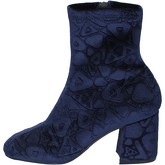 Apepazza  ankle boots velvet  women's Low Ankle Boots in Blue