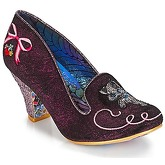 Irregular Choice  Fuzzy Peg  women's Court Shoes in Red