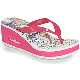 Desigual  SHOES_LOLA_GALACTIC  women's Flip flops / Sandals (Shoes) in White