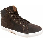 Le Coq Sportif  Le Havre  women's Shoes (High-top Trainers) in Brown