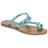 LPB Shoes  TEXANE  women's Flip flops / Sandals (Shoes) in Blue