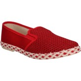 Caffenero  slip on canvas AE159  men's Slip-ons (Shoes) in Red