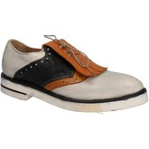 Moma  elegant leather aE977  men's Casual Shoes in White