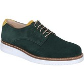 Fdf Shoes  elegantsuede BZ380  men's Casual Shoes in Green