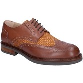 Fdf Shoes  elegant leather textile BZ344  men's Casual Shoes in Brown