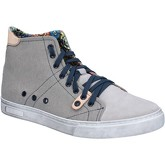 Cruz  sneakers suede textile BZ692  men's Shoes (High-top Trainers) in Grey