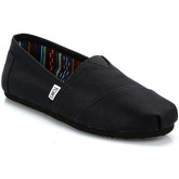 Toms  Mens All Black Canvas Classic Espadrilles  men's Slip-ons (Shoes) in Black