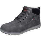 Armata Di Mare  ankle boots synthetic leather textile  men's Mid Boots in Grey