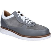 Fdf Shoes  elegant suede leather BZ388  men's Shoes (Trainers) in Grey