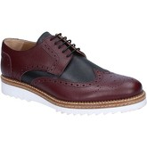 Fdf Shoes  elegant burgundy leather BZ370  men's Casual Shoes in Black
