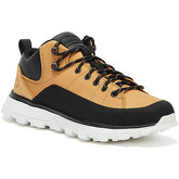 Timberland  Treeline Low Leather Mens Wheat Yellow Trainers  men's Shoes (High-top Trainers) in Yellow