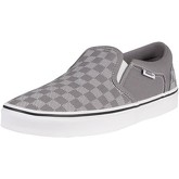 Vans  Asher Checker Dot Canvas Trainers  men's Slip-ons (Shoes) in Grey