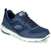 Skechers  FLEX ADVANTAGE  men's Shoes (Trainers) in Blue