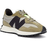 New Balance  327 Mens Khaki / Grey Trainers  men's Shoes (Trainers) in Green