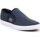 Lacoste  Gazon Sport CSU2 7-29SPM0023DB4  men's Slip-ons (Shoes) in Blue