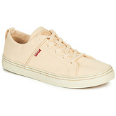 Levis  SHERWOOD LOW  men's Shoes (Trainers) in Beige
