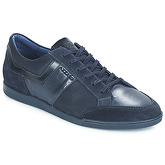 Azzaro  EKIMOZ  men's Shoes (Trainers) in Blue