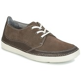 Clarks  GOSLER EDGE  men's Shoes (Trainers) in Brown