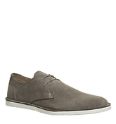 Office Giggle Desert Shoe GREY SUEDE