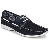 So Size  ELIZA  men's Boat Shoes in Blue