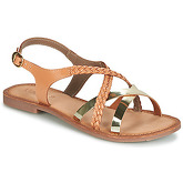 Kickers  ETHY  women's Sandals in Brown