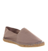 Office Solemate Espadrille GREY CANVAS