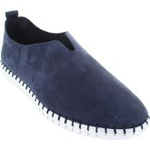 S.Oliver  5-14610-38  men's Loafers / Casual Shoes in Blue