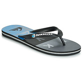Quiksilver  MOLOKAI WORDBLOCK VOLLEY  M SNDL XKKB  men's Flip flops / Sandals (Shoes) in Black