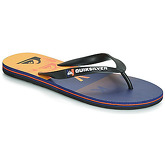 Quiksilver  MOLOKAI WORDBLOCK VOLLEY  M SNDL XKNB  men's Flip flops / Sandals (Shoes) in Black
