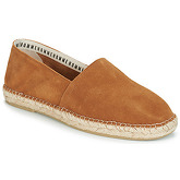 Selected  AJO SUEDE  men's Espadrilles / Casual Shoes in Brown