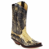 Sendra boots  JOHNNY  men's High Boots in Brown