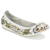 LPB Shoes  ELLA  women's Shoes (Pumps / Ballerinas) in White