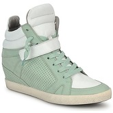 Kennel + Schmenger  SOHO BRIGHT  women's Shoes (High-top Trainers) in Green
