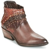 Airstep / A.S.98  SATUR  women's Low Ankle Boots in Brown