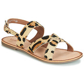 Kickers  DIBA  women's Sandals in Beige