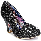 Irregular Choice  NICK OF TIME  women's Court Shoes in Black