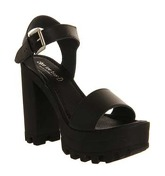 Shoe the Bear Coco Heel BLACK LEATHER