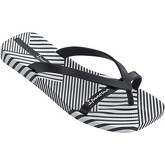 Ipanema  Kirey II Flip Flops  Black Print 81941  women's Flip flops / Sandals (Shoes) in Black