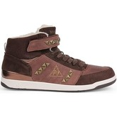 Le Coq Sportif  Diamond Elance Mid  women's Shoes (High-top Trainers) in Brown
