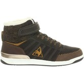 Le Coq Sportif  Diamond Mid  women's Shoes (High-top Trainers) in Brown