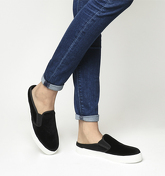 Office Fresher Sports Mule BLACK VELVET