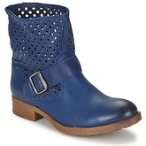 Casual Attitude  BROULI  women's Mid Boots in Blue