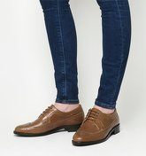 Office Freddy Lace Up Brogue TAN LEATHER