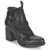 Airstep / A.S.98  POKET  women's Low Ankle Boots in Black