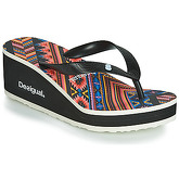 Desigual  SHOES_LOLA_MEXICAN  women's Flip flops / Sandals (Shoes) in Black
