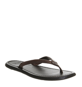Ask the Missus Frank Thong Sandal TAN LEATHER