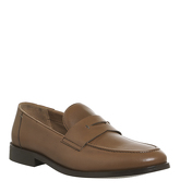 Office Franco Penny Loafer TAN LEATHER